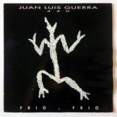Discos de vinilo: JUAN LUIS GUERRA 440 - FRÍO, FRÍO - LA BILIRRUBINA - BMG ARIOLA, KAREN RECORDS 1993 - MAXI SINGLE. Lote 288696263