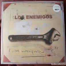 Discos de vinilo: LOS ENEMIGOS - VIDA INTELIGENTE LP + CD. Lote 288696518