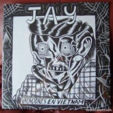 Discos de vinilo: JAY - VACACIONES EN VIETNAM LP. Lote 288701123