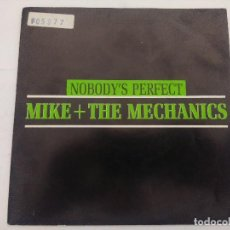 Discos de vinilo: MIKE & THE MECHANICS/NOBODY'S PERFECT/SINGLE PROMOCIONAL.. Lote 288703278