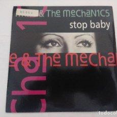 Discos de vinilo: MIKE & THE MECHANICS/STOP BABY/SINGLE.. Lote 288703483