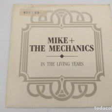 Discos de vinilo: MIKE & THE MECHANICS/IN THE LIVING YEARS/SINGLE PROMOCIONAL.. Lote 288703768