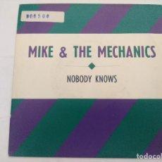 Discos de vinilo: MIKE & THE MECHANICS/NOBODY KNOWS/SINGLE PROMOCIONAL.. Lote 288703893