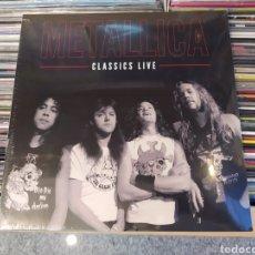 Discos de vinilo: METALLICA–CLASSICS LIVE. DOBLE LP VINILO NUEVO PRECINTADO. Lote 288706613