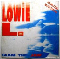 Discos de vinilo: LOWIE L. - SLAM THE JAM - MAXI CLIK 1993 BPY. Lote 288710563