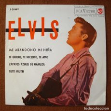 Disques de vinyle: ELVIS PRESLEY : ME ABANDONO MI NIÑA +3 - EP ORIGINAL ESPAÑA EN EXCEPCIONAL ESTADO - 1962 RCA 3-20482. Lote 288714383