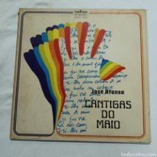 Discos de vinilo: JOSE AFONSO - CANTIGAS DO MAIO. Lote 288718738