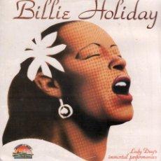 Dischi in vinile: BILLIE HOLIDAY - LADY DAY'S, IMMORTAL PERFRMANCES / LP GIANTS OF JAZZ 1986 / BUEN ESTADO RF-10321. Lote 288721643