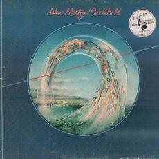 Dischi in vinile: JOHN MARTYN - ONE WORLD / LP EL GRAMOFONO DE 1978 / CARATULA ALGO ROZADA,VINILO BUEN ESTADO RF-10323. Lote 288721943