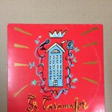 Discos de vinilo: LP SR. CASAMAJOR, PORTADA JAVIER MARISCAL. VINILO COMO NUEVO, FUNDA ALGO ROSADA. Lote 288721983