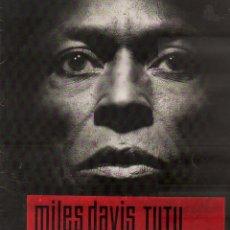 Discos de vinilo: MILES DAVIS - TUTU / LP WB DE 1986 / BUEN ESTADO RF-19856. Lote 288722948