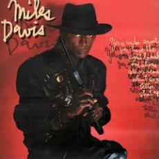 Discos de vinilo: MILES DAVIS - ONE PHONE, BETTER, SHUT UP.../ LP CBS 1985. EDICION ESPAÑOLA RF-10333. Lote 288723048