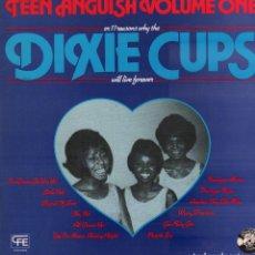 Discos de vinilo: DIXIE CUPS - TEEN ANGUISH VOLUME ONE / LP CFE RECORDS 1984 / CARATULA ALGO ROZADA RF-10335. Lote 288723383
