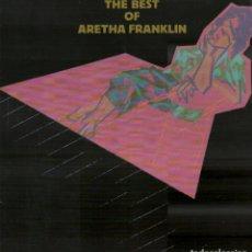 Discos de vinilo: THE BEST OF ARETHA FRANKLIN / LP ATLANTIC DE 1984 / BUEN ESTADO RF-10336. Lote 288725528