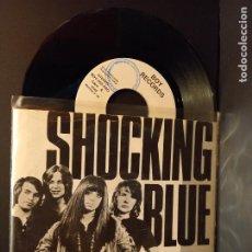 Discos de vinilo: SHOCKING BLUE VENUS SINGLE SPAIN 1990 PDELUXE. Lote 288726658