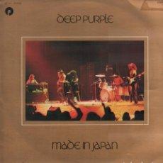 Dischi in vinile: DEEP PURPLE - MADE IN JAPAN / DOBLE LP PATHE MARCONI DE 1973 / BUEN ESTADO RF-10348. Lote 288726893