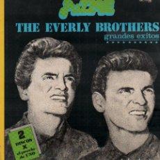 Discos de vinilo: THE EVERLY BROTHERS - GRANDES EXITOS / DOBLE LP ZAFIRO DE 1978 / BUEN ESTADO RF-10350. Lote 288727153