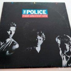 Discos de vinilo: VINILO LP DE THE POLICE. THEIR GREATEST HITS. 1990.. Lote 288727883