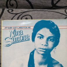 Discos de vinilo: NINA SIMONE - MY BABY JUSTO CARES FOR ME. Lote 288728148