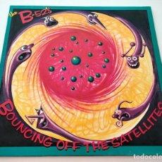 Discos de vinilo: VINILO LP DE THE B-52'S. BOUNCING OFF THE SATELLITES. 1987.. Lote 288729338
