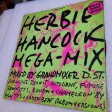 Discos de vinilo: HERBIE HANCOCK. MEGA - MIX. Lote 288737648