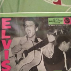 Discos de vinilo: ELVIS PRESLEY. CUELGA MI ANILLO EN TU CUELLO. EP.. Lote 288738083