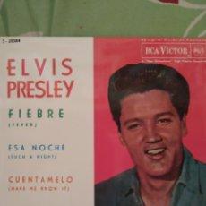 Discos de vinilo: ELVIS PRESLEY. FIEBRE. EP.. Lote 288738158