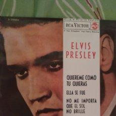 Discos de vinilo: ELVIS PRESLEY. QUIÉREME COMO TÚ QUIERAS. EP.. Lote 288738463