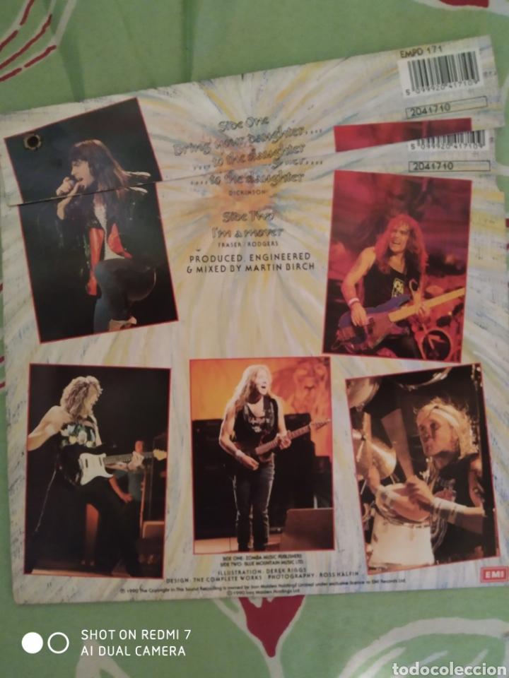 Discos de vinilo: Iron Maiden. Bring your daughter. Single picture. - Foto 2 - 288739073
