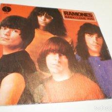 Discos de vinilo: SINGLE RAMONES. BABY, AI LOVE YOU. ROCK 'N' ROLL HIGH SCHOOL. SIRE 1980 SPAIN (SEMINUEVO). Lote 288740673