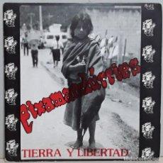 """Discos de vinilo: PIXAMANDURRIES - TIERRA Y LIBERTAD (1994) TREP 029 (SINGLE VINILO 7"""") - USADO. Lote 288743968"""