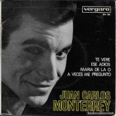 Discos de vinilo: JUAN CARLOS MONTERREY TE VERE. Lote 288745163