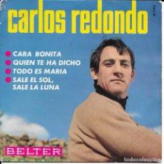 Discos de vinilo: CARLOS REDONDO CARA BONITA. Lote 288746918
