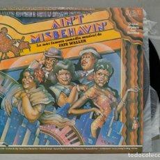 Discos de vinilo: 2 LP. FATS WALLER. AIN'T MISBEHAVIN. Lote 288858633