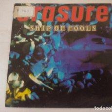 Discos de vinilo: ERASURE/SHIP OF FOOLS/SINGLE PROMOCIONAL.. Lote 288863603