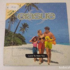 Discos de vinilo: ERASURE/LOVE TO HATE YOU/SINGLE PROMOCIONAL.. Lote 288864728