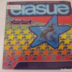 Discos de vinilo: ERASURE/BREATH OF LIFE/SINGLE PROMOCIONAL.. Lote 288864833