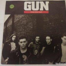 Discos de vinilo: GUN/INSIDE OUT/SINGLE.. Lote 288866373