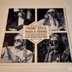 Discos de vinilo: 0921-CROSBY,STILLS,NASH & YOUNG-THE BILL GRAHAM TRIBUTE CONCERT-SAN FRANCISCO 1991,VINILO,NEW PRECI. Lote 288866578