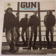 Discos de vinilo: GUN/BETTER DAYS/SINGLE.. Lote 288866623