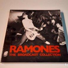 Discos de vinilo: 0921-RAMONES - THE BROADCAST COLLECTION VINYL, 3XLP, BOX, NUEVO PRECINTADO. Lote 288867083