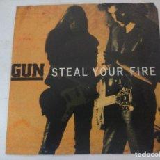 Discos de vinilo: GUN/STEAL YOUR FIRE/SINGLE.. Lote 288867103