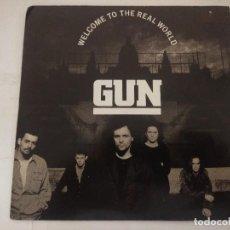 Discos de vinilo: GUN/WELCOME TO THE REAL WORLD/SINGLE.. Lote 288867328