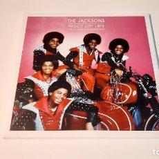 Discos de vinilo: 0921-THE JACKSONS - MEXICO CITY 1975 (THE CLASSIC BROADCAST). 2 LP-VINILO NUEVO PRECINTADO. Lote 288868683