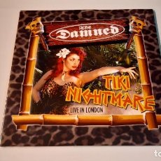 Discos de vinilo: 0921-THE DAMNED - TIKI NIGHTMARE: LIVE IN LONDON. 2 LP ALBUM, LTD, RED-VINILO NUEVO PRECINTADO. Lote 288869408