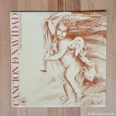 Discos de vinilo: ORFEÓN TERRA A NOSA CANCION DE NAVIDAD 1976 CBS CORAL GALICIA VINILO LP MUSICA CELTA GALEGA. Lote 288874283