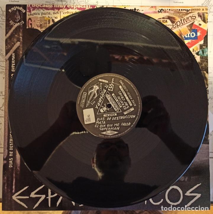 Discos de vinilo: ESPASMODICOS EP. DIAS DE DESTRUCCION, MATA, EL DIA QUE ME FALLO SUPERMAN, SERAFIN, SOY CRUEL - Foto 2 - 288875508