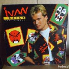 Discos de vinilo: IVAN --- BAILA - MAXI SINGLE. Lote 288875908