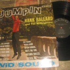 Discos de vinilo: HANK BALLARD & THE MIDNIGHTERS – JUMPIN KING RECORDS 1962 OG USA. Lote 288890548