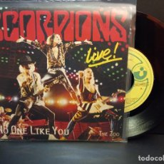 Discos de vinilo: SCORPIONS NO ONE LIKE YOU / THE ZOO SINGLE SPAIN 1985 PDELUXE. Lote 288890748
